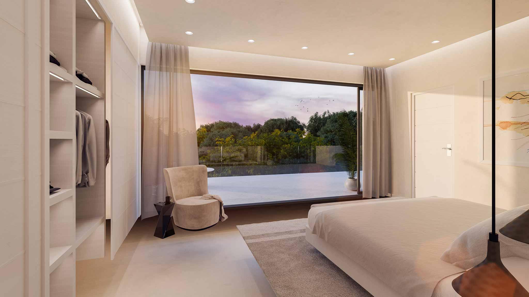 Luxury Villa Costa Del Sol Bedroom