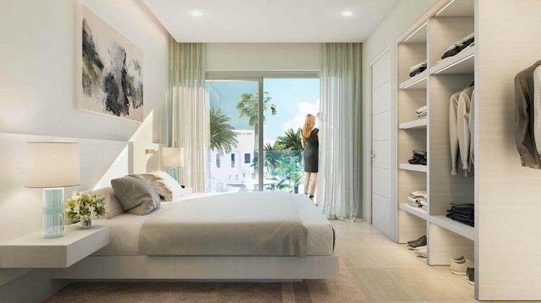 Bedroom, townhouse