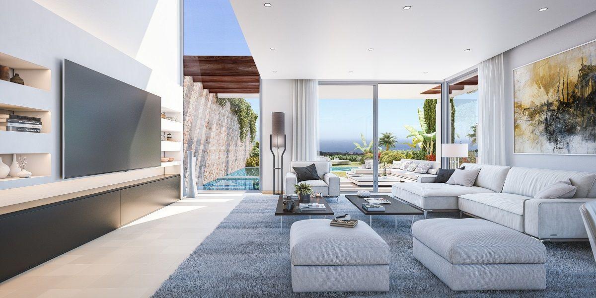 Livingroom design in Golf Villa