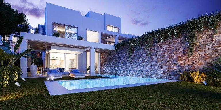 Villa with sea and golf view in Marbella
