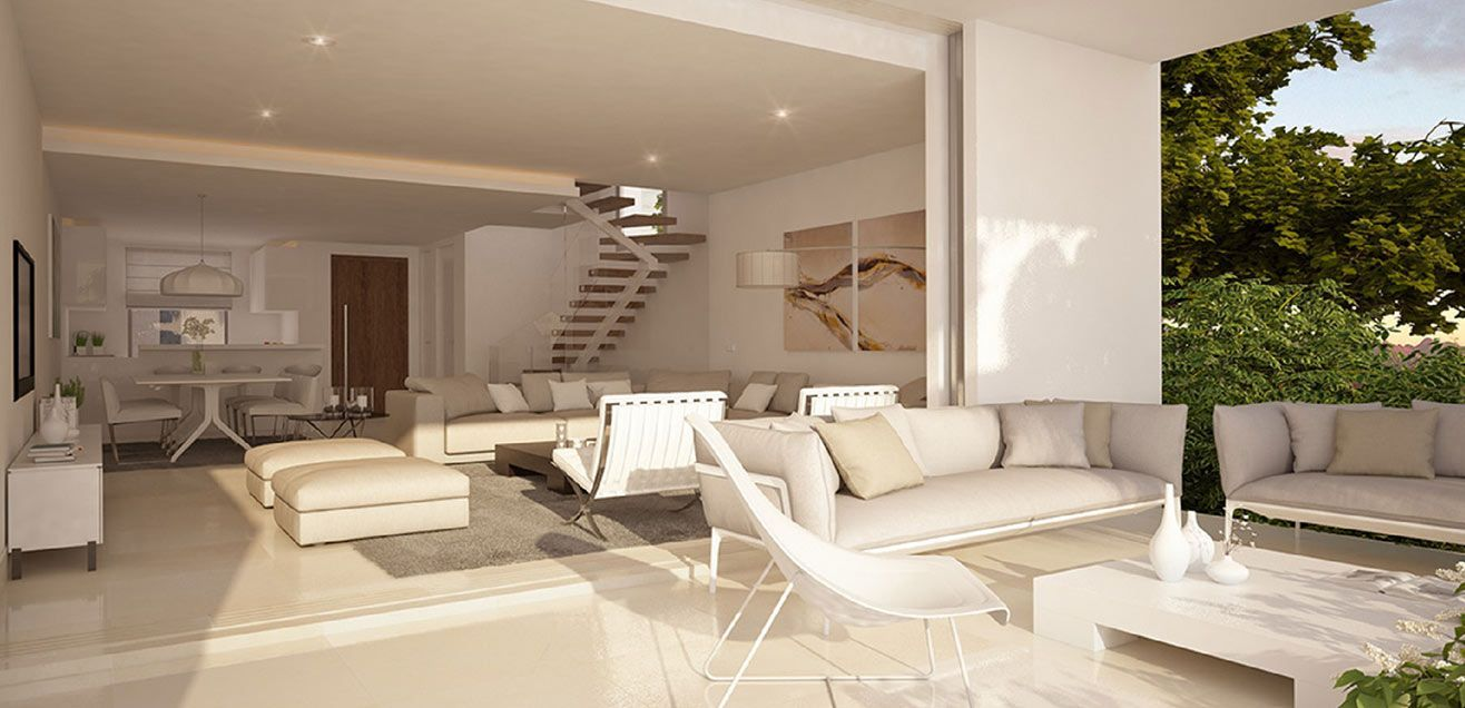 Open plan kitchen and livingroom - Encina