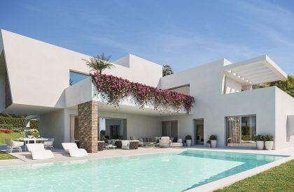 Luxury villa for sale in Estepona, Marbella.